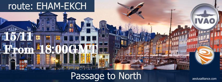 Passage To North (Evento su Ivao)