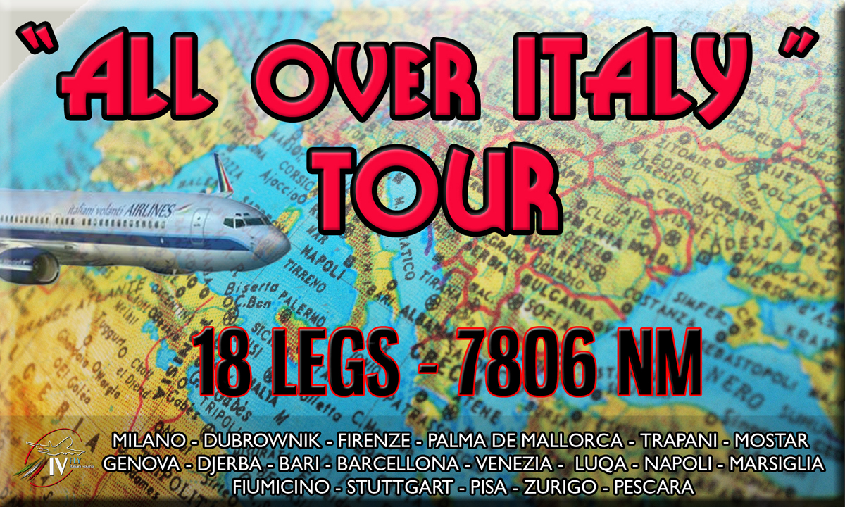 ALL OVER ITALY TOUR (APERTURA)