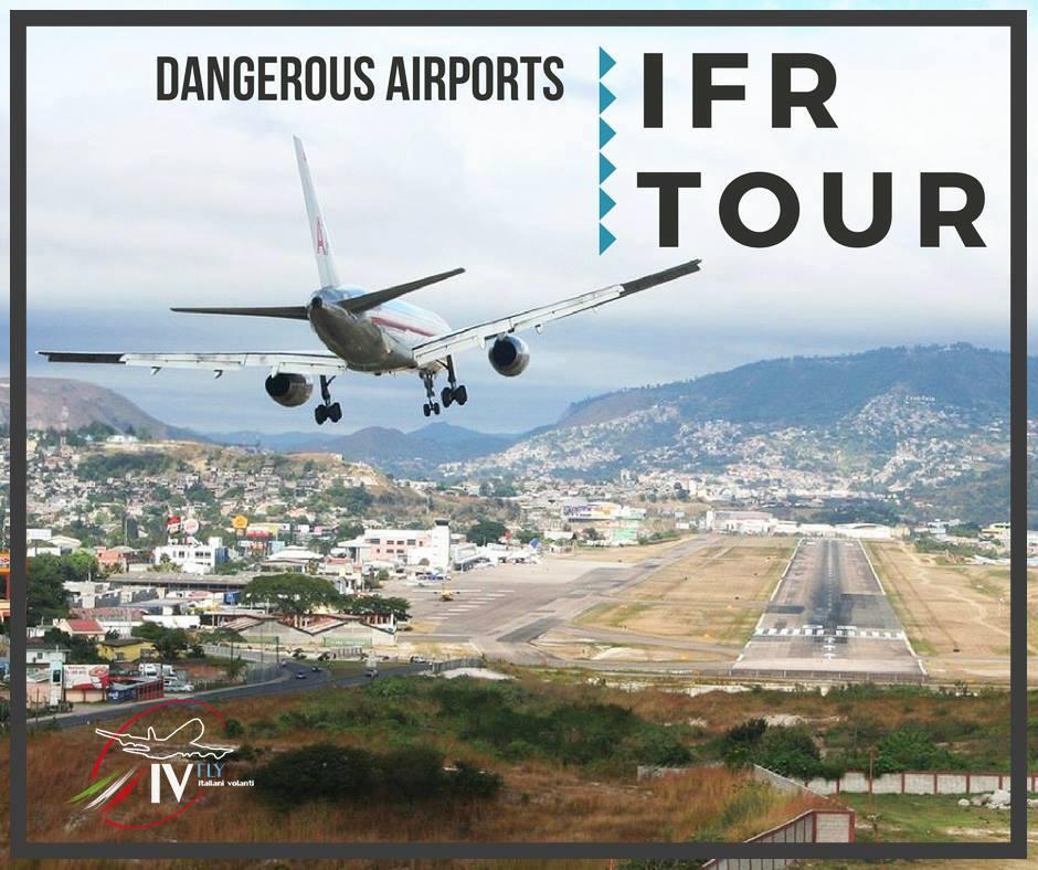 Apertura DANGEROUS AIRPORTS IFR TOUR
