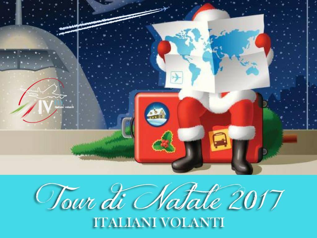 Apertura Tour di Natale 2017